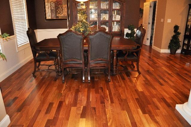 "3"" Cumaru Shorts hardwood flooring."