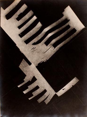 { Bauhaus } Vintage Bauhaus :: László Moholy-Nagy PIANO, PHOTOGRAM c1920 Vintage Bauhaus & Constructivism 250gsm GLOSS ART CARD A3 Reproduction Poster 250gsm Gloss ART CARD A3 Reproduction Poster - Buy/Review/Scans