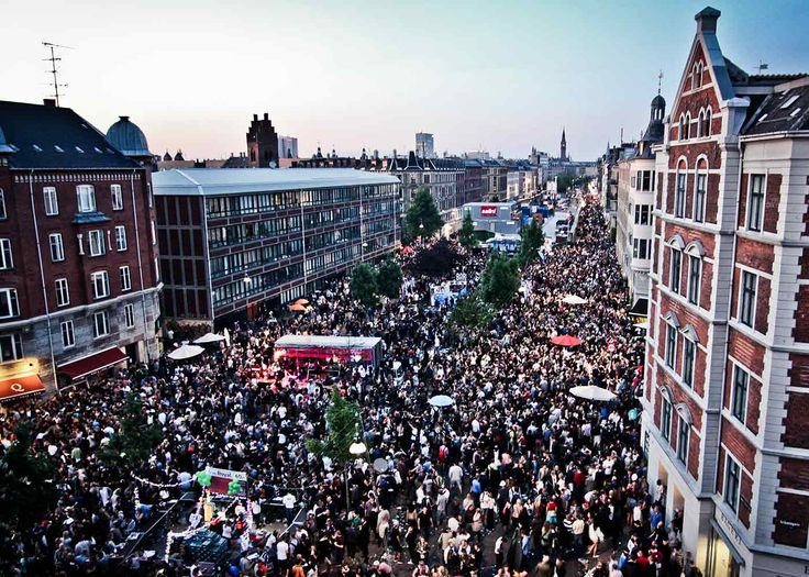 #Copenhagen was hit by the annual street festival #Distortion in the start of June that filled the streets with happy party people, music and summer!