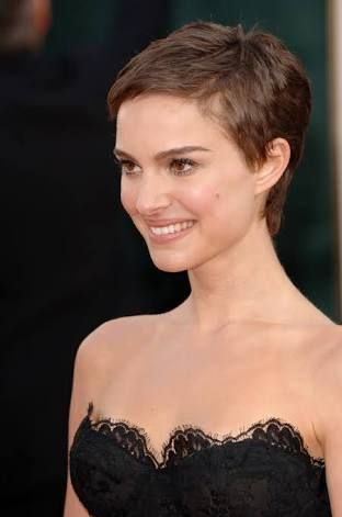 natalie portman pixie cut google search chemo haircuts. Black Bedroom Furniture Sets. Home Design Ideas