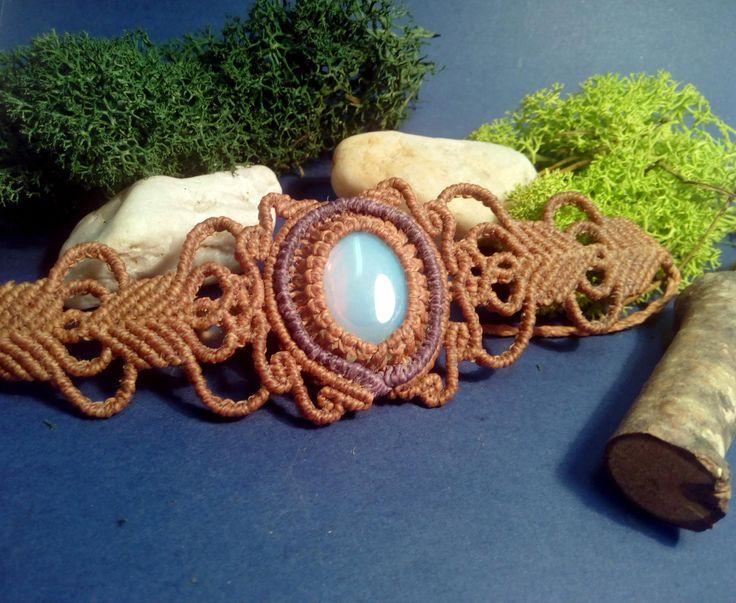 Vintage Makramee Armband von MyCreationsVonMandy auf Etsy