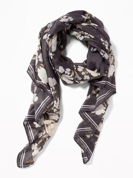 6924411470a Printed Gauze Scarf for Women | accessories | Pinterest | Womens ...