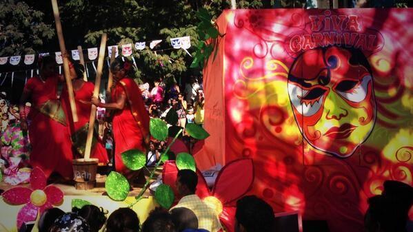 Viva Carnival in Goa, India, 2014