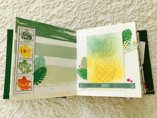 La Tana Di Topilde - Mini Album Summer - RDV au Soleil - Les Ateliers de Karine