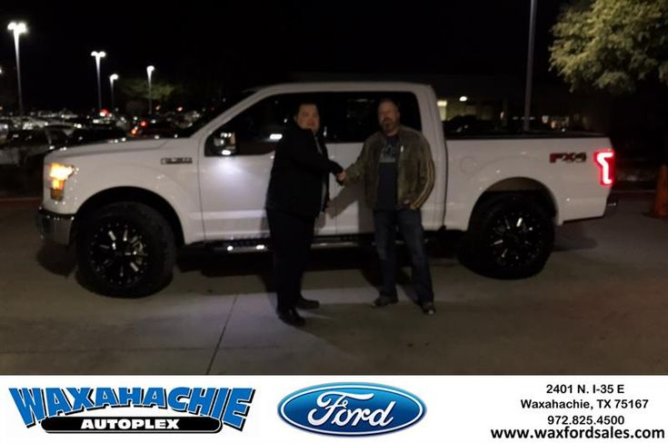 Congratulations Taylor on your #Ford #F-150 from Eric Nelson at Waxahachie Ford!  https://deliverymaxx.com/DealerReviews.aspx?DealerCode=E749  #WaxahachieFord