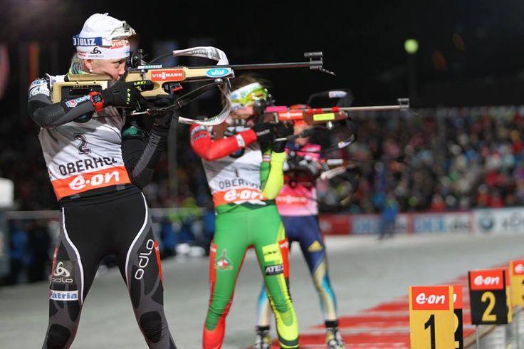 Darya ou Kaisa ? A la veille de la dernière étape de la coupe du monde de biathlon, le suspense est total entre Domracheva et Mäkärainen. Il reste trois courses pour départager les deux meilleures biathlètes de l'hiver... /// http://www.ski-nordique.net/darya-ou-kaisa-.5720296-72348.html