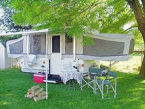 Tent Trailer Rentals in Northern CA - RM Rents - Coleman/Fleetwood #tent_trailer_rentals_in_northern_ca #pop_up_trailers