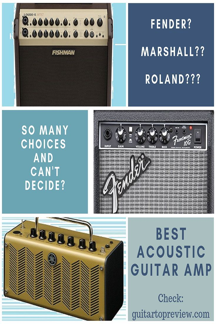 The Best Acoustic Guitar Amps For 2014 Best Acoustic Guitar Acoustic Guitar Amp Guitar