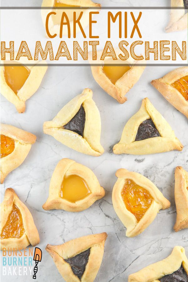 Cake Mix Hamantaschen Recipe Cake Mix Recipes Hamantaschen