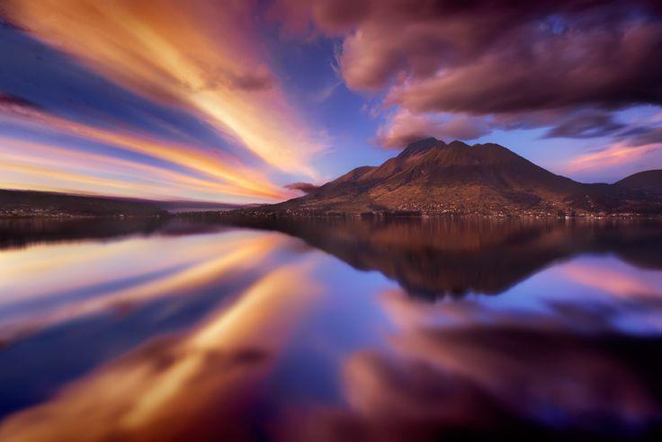 Photograph Volcan Imbabura mirror by Iván Maigua on 500px