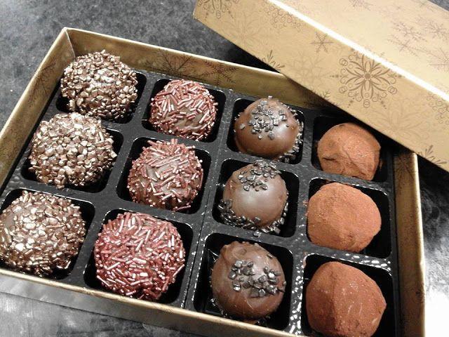 Chokoladekursus i England