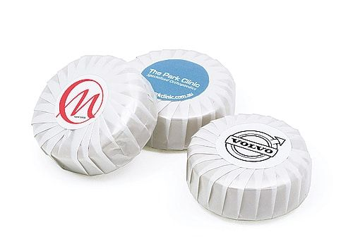 Branded Pleat Soap