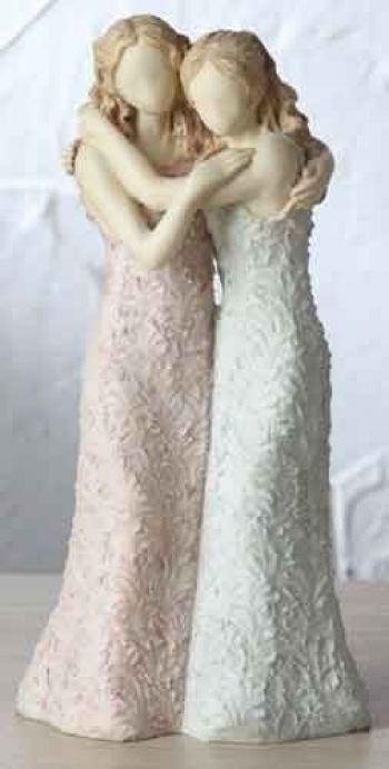 Beautiful wedding cake topper!!    Gay Lesbian Wedding Cake Topper