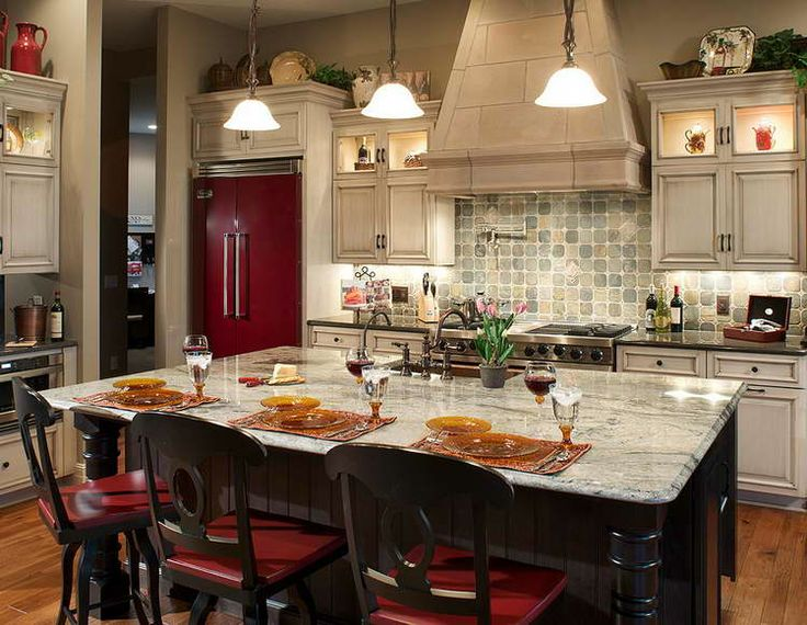 Awesome Open Kitchen Designs With Islands | Mobile Kitchen Island Decor Idea For  Your Kitchens : Kitchen