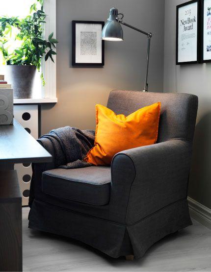 Reading Corner With Ektorp Jennylund Armchair And Ar 214 D
