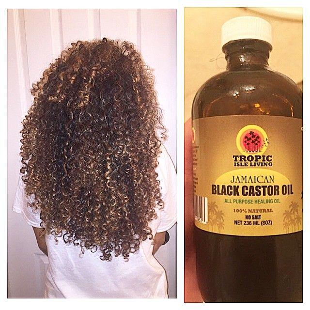 jamaican black castor oil and coconut