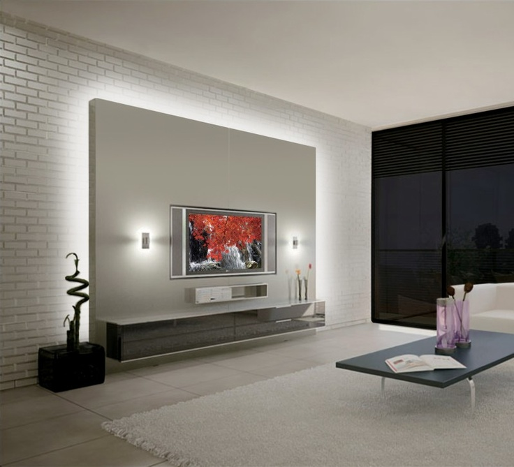 Starlight Solutions developed a very elegant floating wall with soft backlighting. www.StarlightSolutions.eu