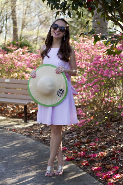 The Monogrammed Life: Fashion Friday: Carolina Cup Outfit