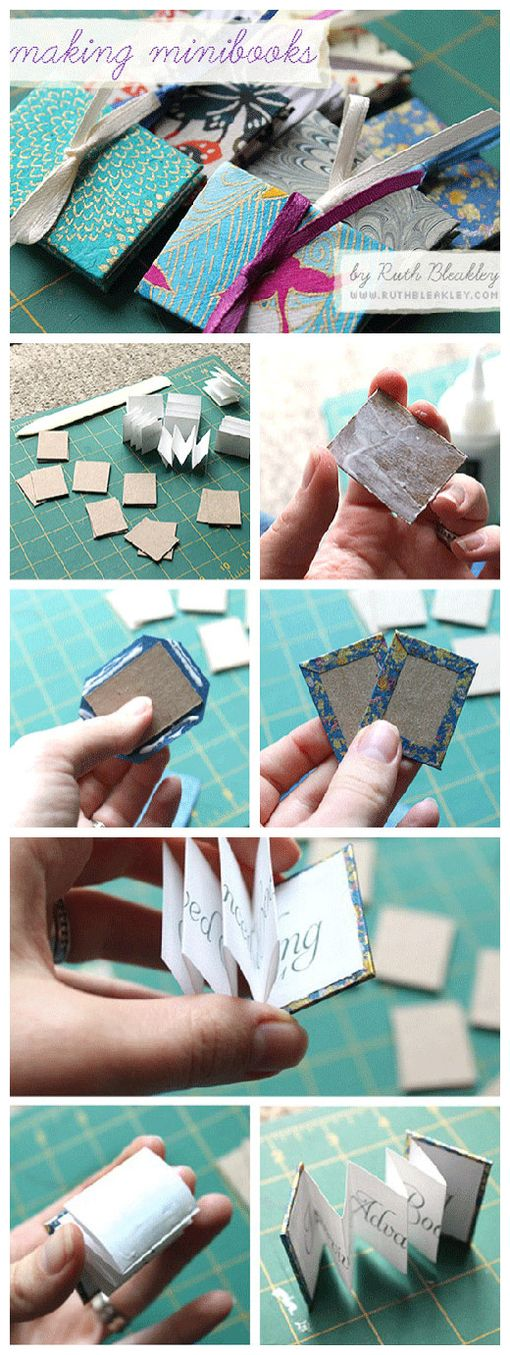 Folded mini-book approach. Very cute and very pocket. [A group meatball]
