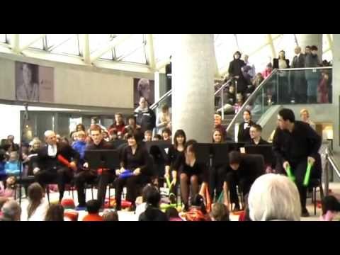 Sabre Dance - the Boomwhacker Orchestra.... ( LESSON for Tempo )
