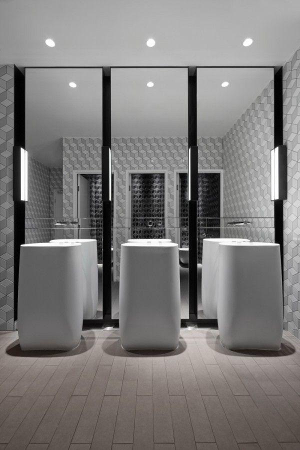 235 best public toilets images on pinterest public for Interieur maddens