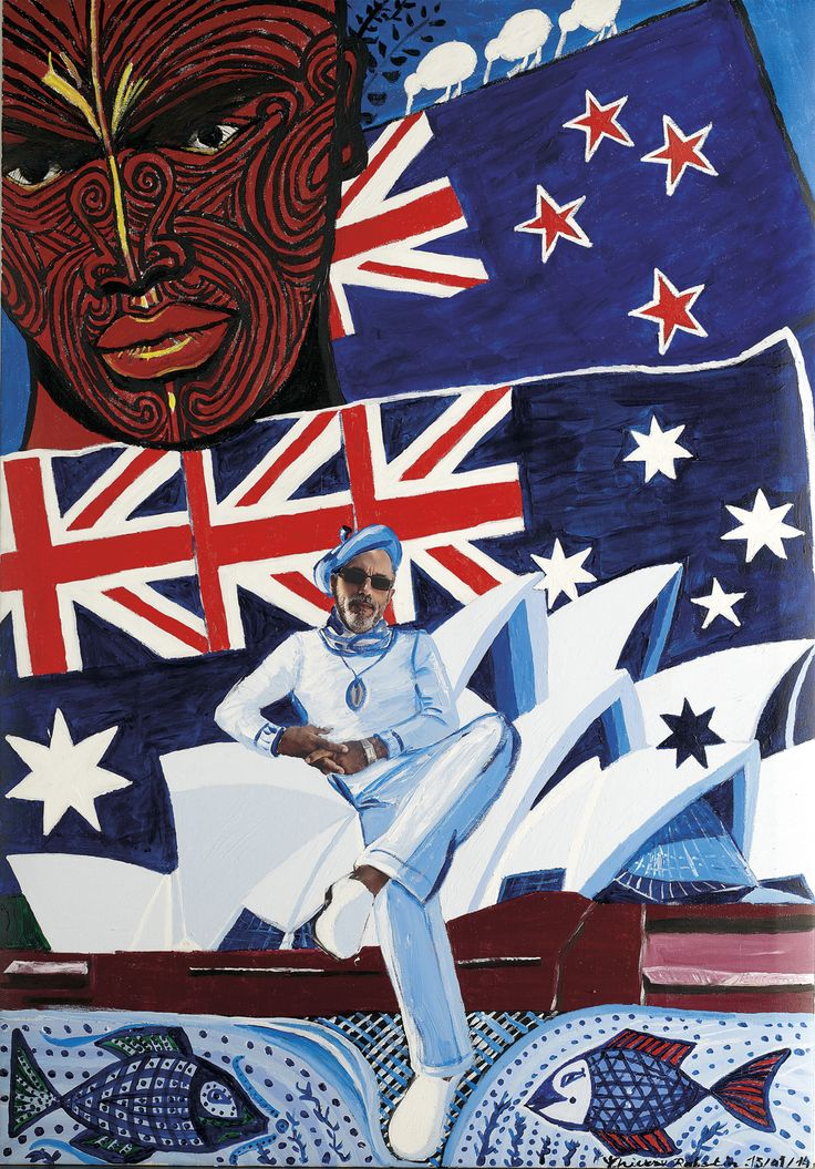 Thierry Rabotin - Maori à Sydney 2014