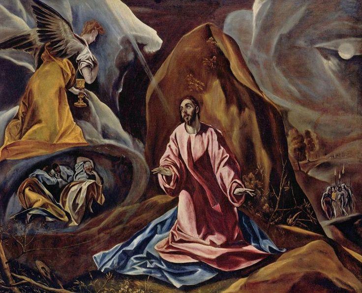 Эль Греко (Доменико Теотокопули). Агония в саду