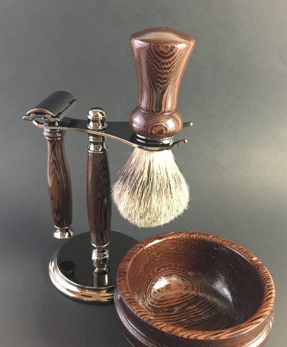 Old Fashioned Shave Kit Skulls