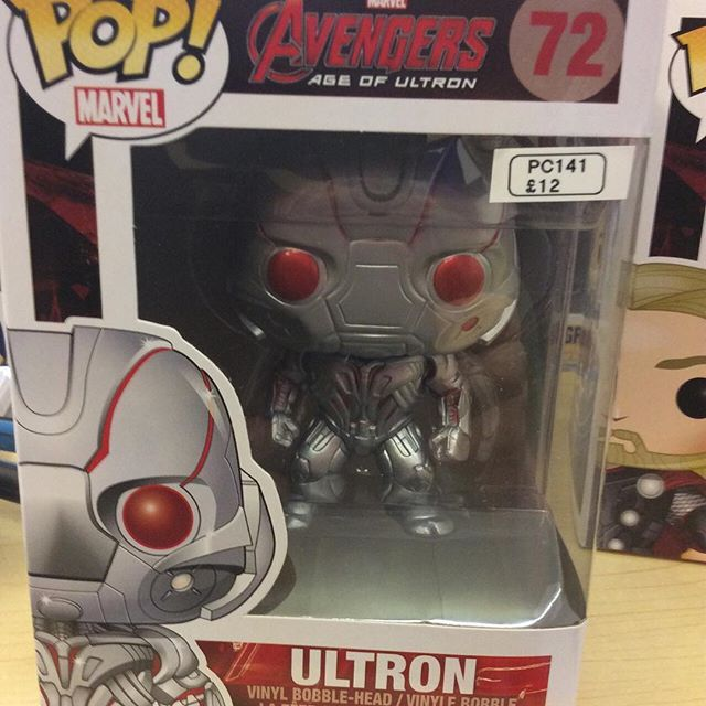 """Age of Ultron Avengers Ultron funko pop #avengers #ageofultron #marvel #hulk #funko pop #ultron Like this? I'm selling it on @depopmarket. Search for me: diversions on #depop ✌ "" Photo taken by @diversionsgifts.co.uk on Instagram, pinned via the InstaPin iOS App! http://www.instapinapp.com (07/17/2015)"