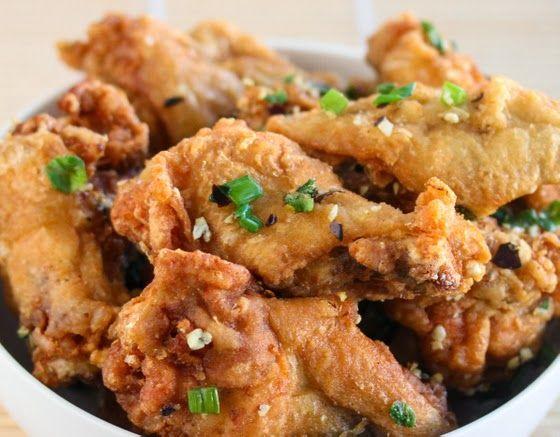 Salt and pepper wings recipe chinese restaurant san for Tapis de cuisine salt pepper