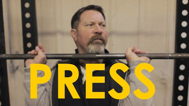 Mark Rippetoe, author of Starting Strength, shows us how to properly shoulder press. Find out more about Mark's book here: http://aom.is/rippetoe
