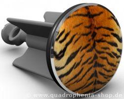 """Für alle, die es """"wild"""" mögen: Der Plopp Waschbeckenstöpsel Tiger bringt ein Stück Wildnis ins Bad. Wecke den Tiger in Dir... ;)"""