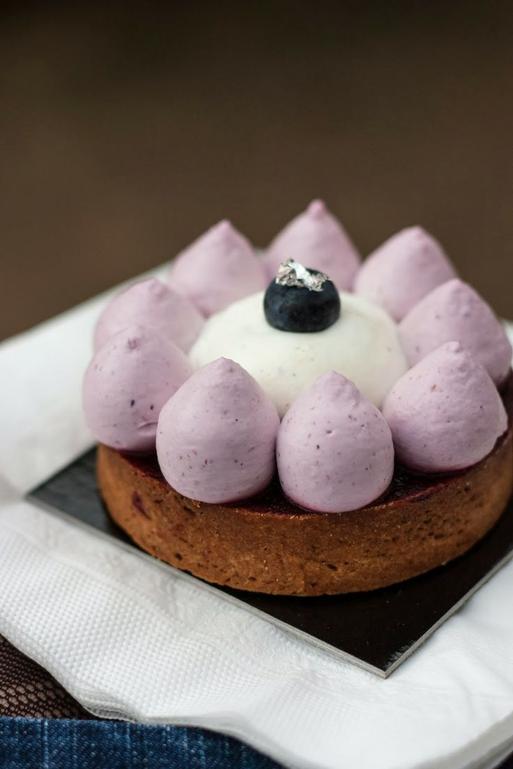 Blueberry and Cassis Tartelette | Paris