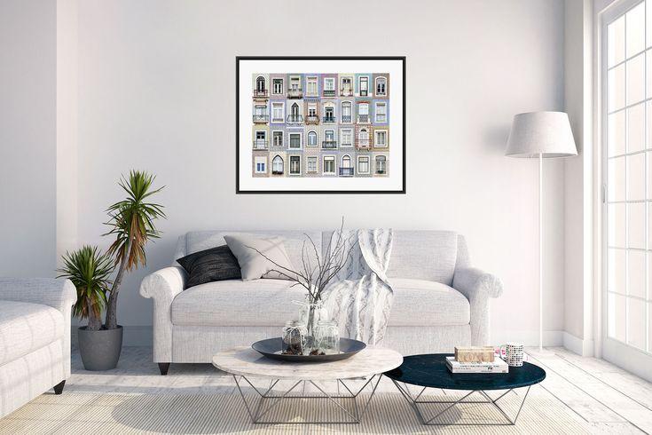 Windows of the World - Lisbon Print
