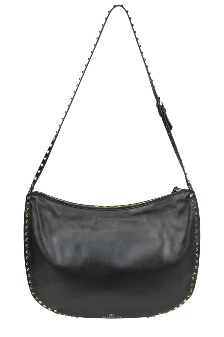 Buy Valentino Bags on glamest.com Fashion Outlet, select the Valentino Rockstud shoulder bag of your choice up to 35% off.