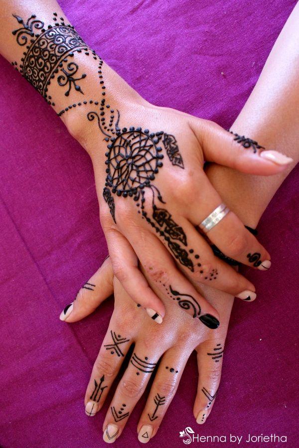 Henna Hands - Dream Catcher Henna