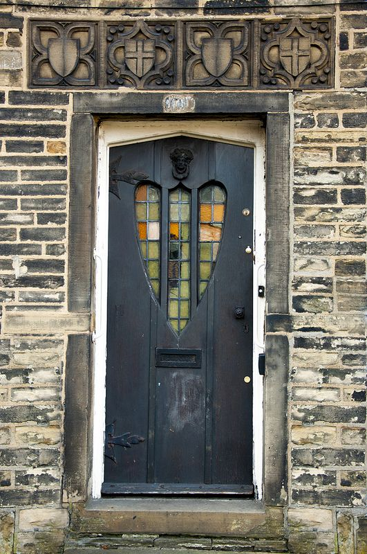 Heart Door - Bradford, England