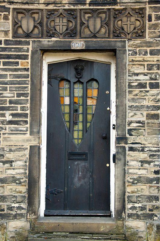 Heart Door - Bradford, England   ..rh
