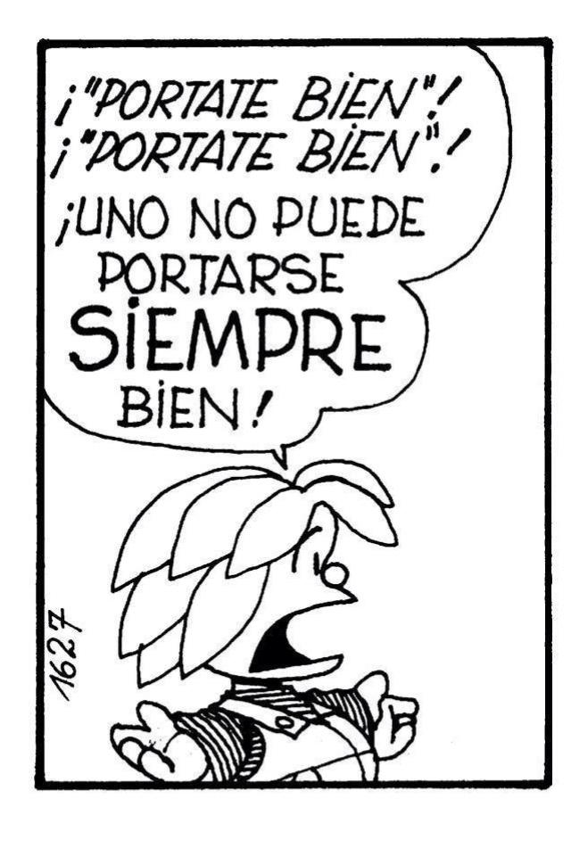 No siempre... #Quino
