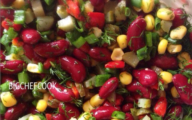 Bigchefcook: Meksika Fasulyeli Salata