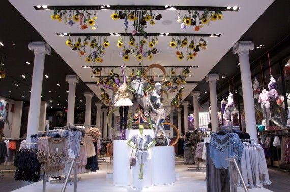 Retail Project - TOPSHOP SoHo   PID Floors