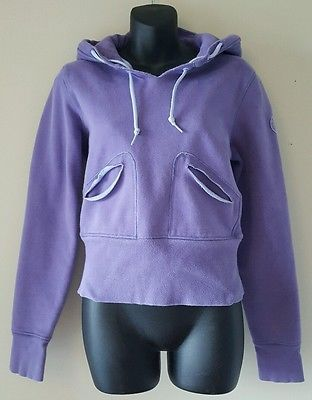 Lululemon Athletica purple pullover long sleeve hoodie sweater size 8 fits small