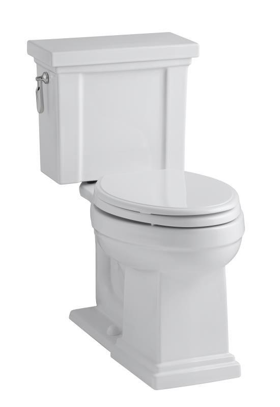 Tresham™ Comfort Height® two-piece elongated 1.28 gpf toilet