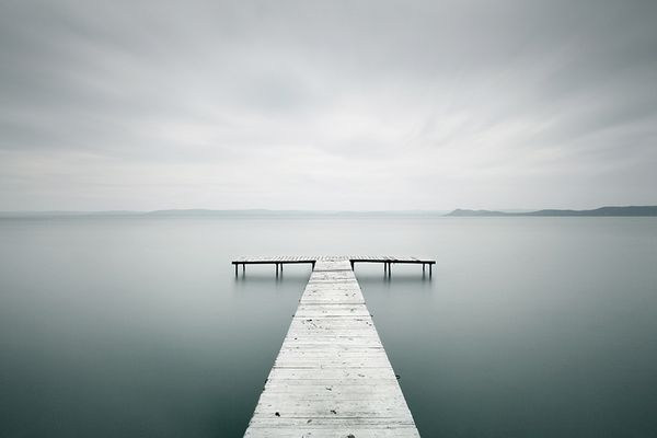 Lake Balaton, Hungary. Breathtaking photo from Akos Major.    (via Akos Major)