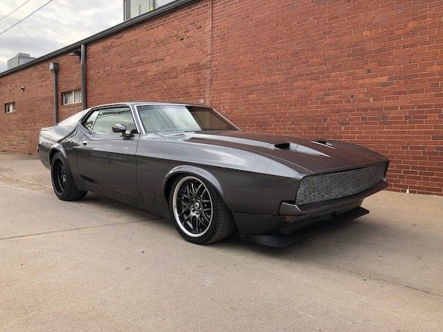 1972 Ford Mustang Mach 1 Restomod For Sale Photos Technical Specifications Description Mustang Mach 1 Ford Mustang Mustang