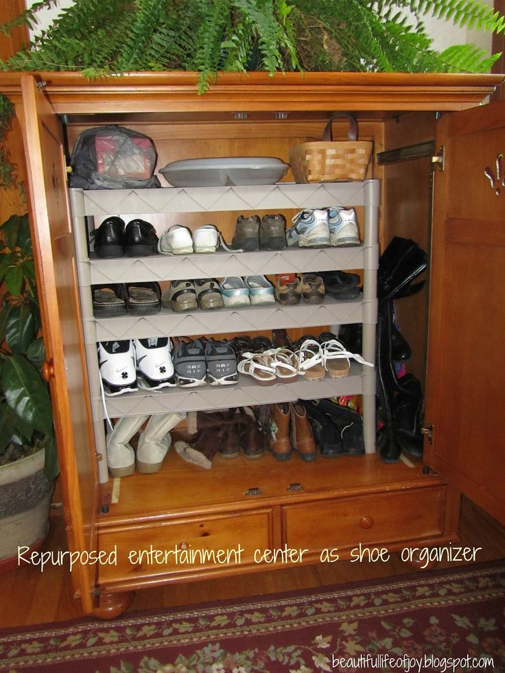 55 Best Repurpose Entertainment Centers Images On