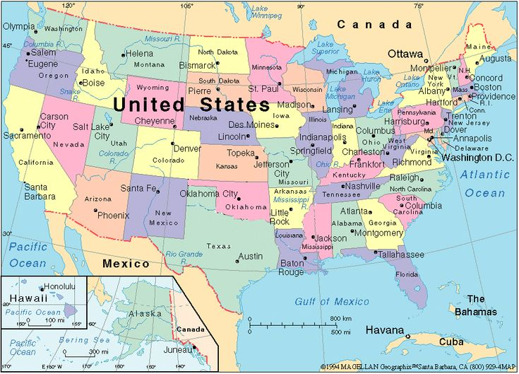 Map Usa States Images Maps Of USA Earthquake Information By - State maps of usa