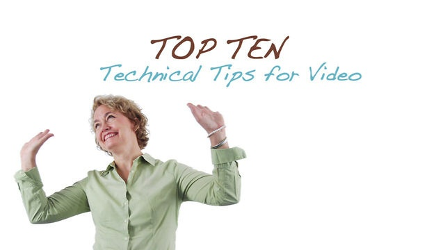 Top 10 Technical Tips for Video: Videotaping in the classroom is a new experience for most educators. To avoid technical difficulties, listen to a NBCT share  tips for success when capturing video footage.