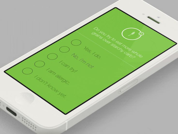 Interface Concept Part 2 TAGS: #ui #animated #health