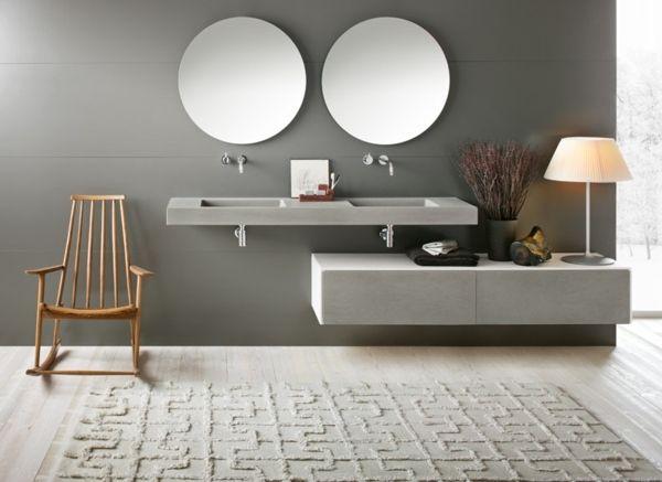 Badezimmer planen Gestaltungsideen-Waschtisch